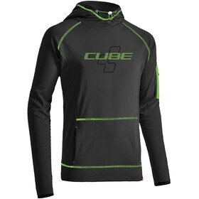 Cube Race Capuchon Heren, anthracite'n'green